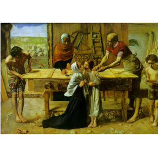 Millais - Christ Carpenter