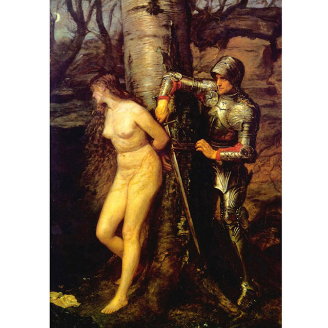Millais - Knight Errant