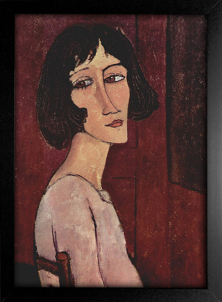 Imagem do Modigliani - Portrait of Margarita