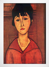 Imagem do Modigliani - Head of Young Girl