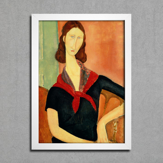 Modigliani - Jeanne Hebuterne With a Scarf - comprar online