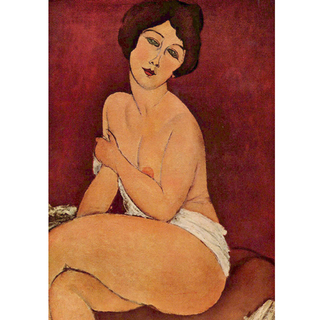 Modigliani - Large  Seated Nude