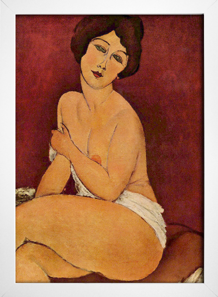 Modigliani - Large  Seated Nude - loja online