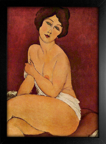 Imagem do Modigliani - Large  Seated Nude
