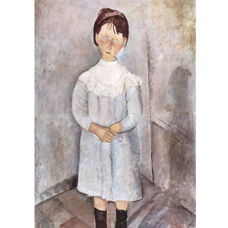 Modigliani - Little Girl in Blue