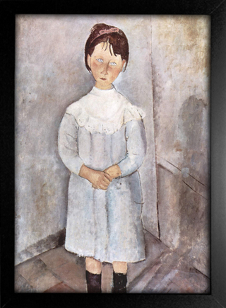Imagem do Modigliani - Little Girl in Blue