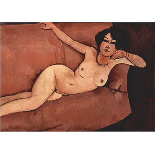 Modigliani - Nude on Sofa