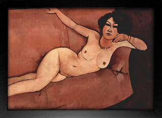Imagem do Modigliani - Nude on Sofa
