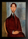 Imagem do Modigliani - Portrait of Leopold Zborowski