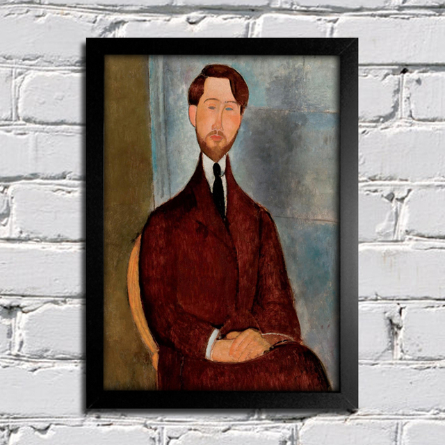 Modigliani - Portrait of Leopold Zborowski