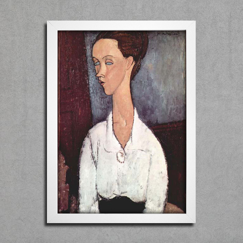Modigliani -  Portrait of Lunia Czechowska II