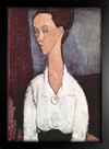 Imagem do Modigliani -  Portrait of Lunia Czechowska II