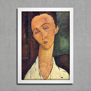 Modigliani - Portrait of Lunia Czechowska