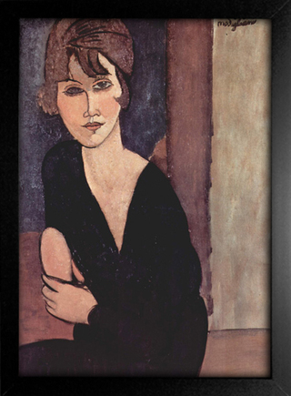 Imagem do Modigliani - Portrait of Madame Reynouard