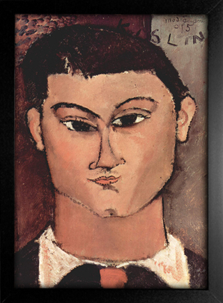 Imagem do Modigliani - Portrait of Moise Kisling