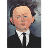Modigliani - Portrait of the Mechanical