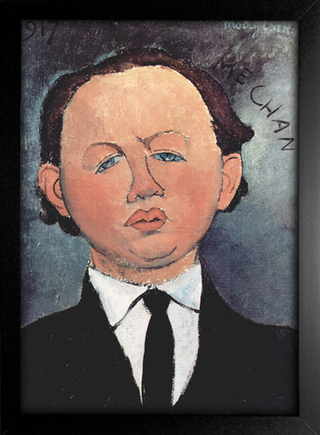 Imagem do Modigliani - Portrait of the Mechanical
