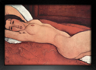Modigliani - Reclining Nude With Folded Arms Behind Her Head - loja online