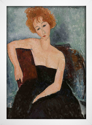 Modigliani - Redheaded Girl in Evening Dress - loja online