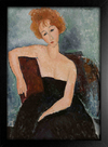 Imagem do Modigliani - Redheaded Girl in Evening Dress