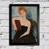 Modigliani - Redheaded Girl in Evening Dress - comprar online