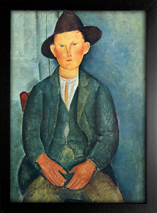 Imagem do Modigliani - The Little Peasant