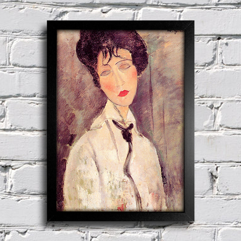 Modigliani - Woman With a Black Tie