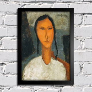 Modigliani - Young Girl With Braids