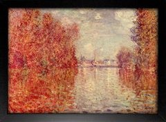 Imagem do Monet - Autumn at Argenteuil