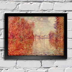 Monet - Autumn at Argenteuil - comprar online