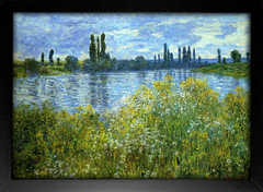 Imagem do Monet - Banks of the Seine Vetheuil
