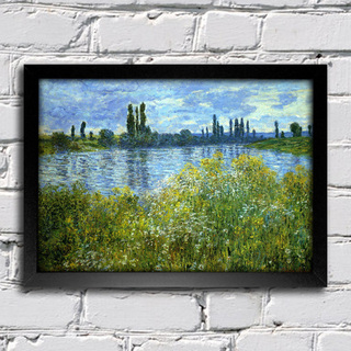 Monet - Banks of the Seine Vetheuil - comprar online