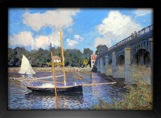 Imagem do Monet - Bridge at Argenteuil