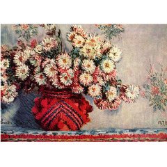 Monet - Chrysanthemums
