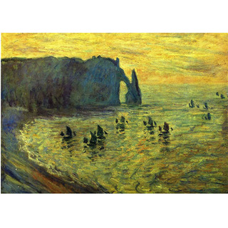 Monet - Cliffs at Etretat