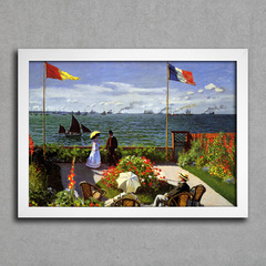Monet - Garden at Sainte Adresse Sun
