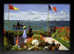 Imagem do Monet - Garden at Sainte Adresse Sun
