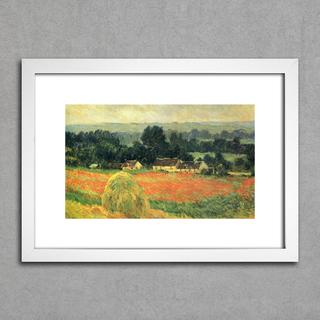 Quadro Monet - Haystack At Giverny na internet