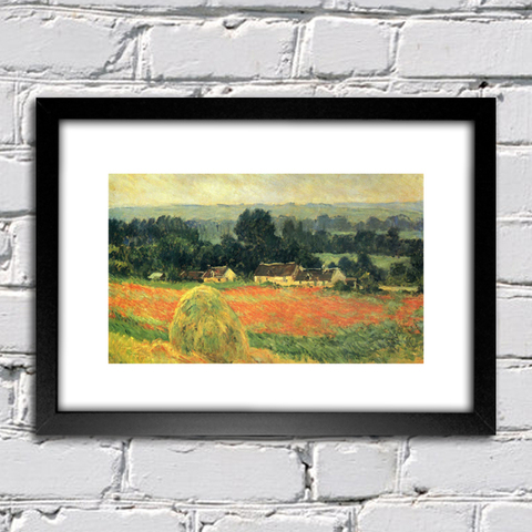 Quadro Monet - Haystack At Giverny - comprar online