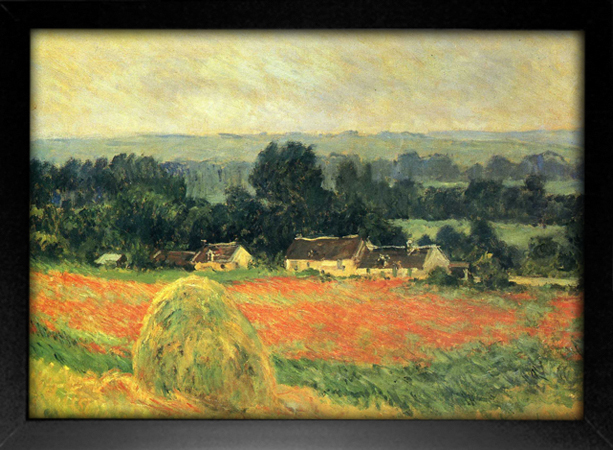 Imagem do Monet - Haystack at Giverny