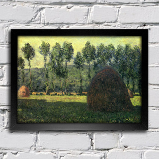 Monet - Haystacks