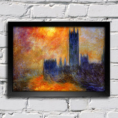 Monet - House Of Parliament Sun - comprar online
