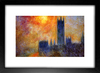 Quadro Monet - House Of Parliament Sun na internet