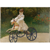 Monet - Jean Mmonet on his Hobby Horse