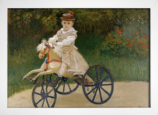 Monet - Jean Mmonet on his Hobby Horse - loja online