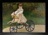 Imagem do Monet - Jean Mmonet on his Hobby Horse