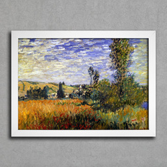 Monet - Landscape at Vetheuil