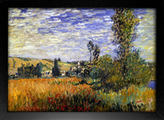 Imagem do Monet - Landscape at Vetheuil