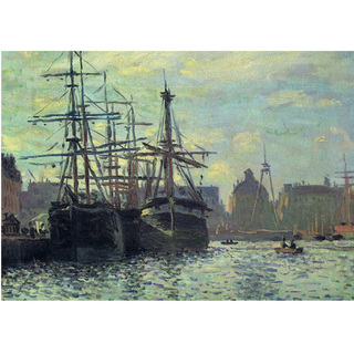 Monet - Le Bassin Du Commerce Le Havre