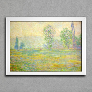 Monet - Meadows in Giverny